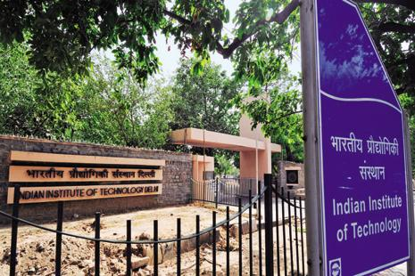 An IIT Delhi professor said the ERNET DNS (domain name service) server for the IIT Delhi website was targeted because of which it was showing pro-Pakistan messages. Photo: Ramesh Pathania/Mint