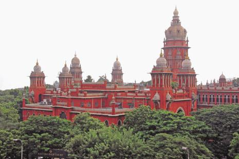 The Madras high Court  bench said the order would be in force for three months or until further orders. Photo: Yogi Balaji/Wikimedia Commons