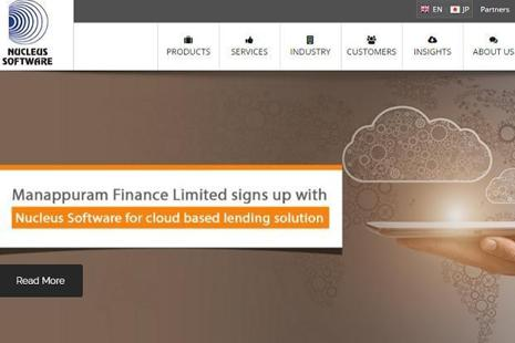 Nucleus Software had posted a net profit of Rs14.12 crore in the year-ago period, it said in a BSE filing.