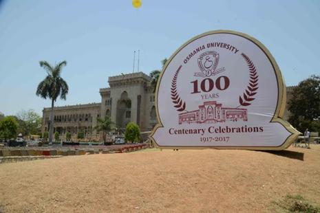 Osmania University completed 100 years.  Photo: Syed Mohd. Yunus/Mint