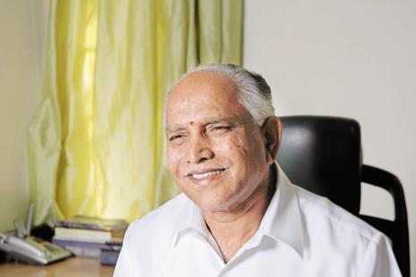 The developments are part of a long-standing grudge battle between former CM B.S.Yeddyurappa (above) and leader of the opposition in the Karnataka legislative council K.S.Eshwarappa that began almost a decade ago. File photo: Mint
