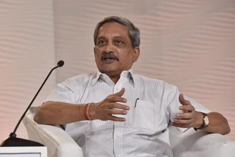 Goa chief minister Manohar Parrikar. Photo: HT