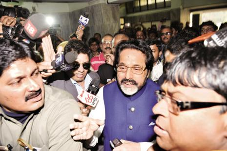 "A file photo of TMC MP Sudip Bandyopadhyay. The investigation revealed that the two MPs abused their official position and aided the illegal fund collection business"" of the Rose Valley group, the CBI said. Photo: Indranil Bhoumik/Mint"