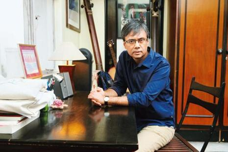 Amit Chaudhuri at his home in Kolkata. Photo: Indranil Bhoumik/Mint
