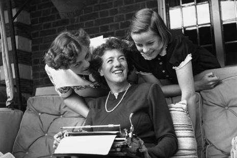 Author Enid Blyton. Cliché used in over half her works: 'in a trice'. Works studied: 21 Famous Five books. Photo: George Konig/Getty Images