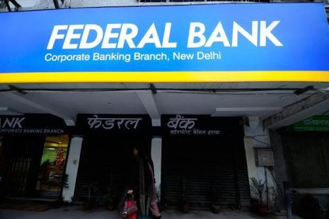 Federal Bank shares soared 13.58% to close at Rs107.45 on BSE, adding Rs2,204.86 crore to the company's market valuation. Photo: Pradeep Gaur/ Mint