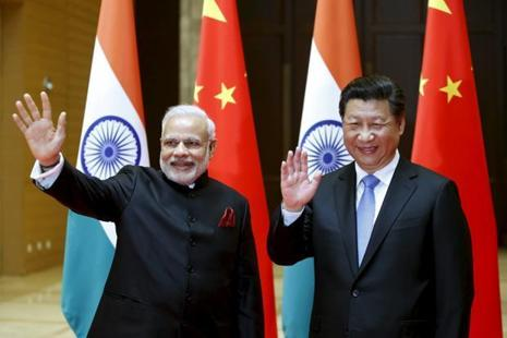 A file photo of Prime Minister Narendra Modi with Chinese President Xi Jinping. Photo: Reuters