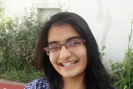 Vrunda Nandkumar Rathi, 17-year-old Nashik girl, will now live her dream after bagging the All India Rank 1 among girls in the JEE Main Exam 2017. (Handout image)