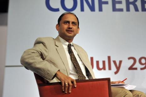 Reserve Bank of India (RBI) deputy governor Viral Acharya. The gross bad loans of government banks stood at Rs6.15 trillion as of December 2016. Photo: Mint