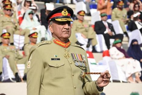 Qamar Javed Bajwa alleged that India was not only involved in aggression against the people in Kashmir but also against the people living on the Pakistani side of the LoC. Photo: Reuters