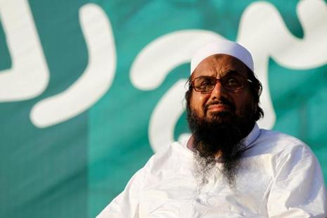 Hafiz Saeed has a bounty of $10 million on his head for his role in terror activities. Photo: Caren Firouz/Reuters