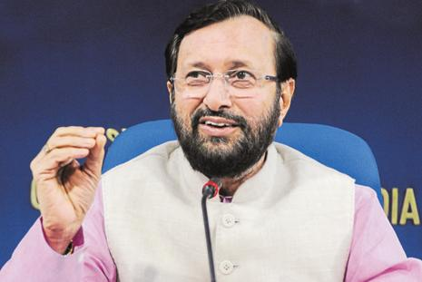 Union minister Prakash Javadekar said private institutions should strive for quality education and not bring the commercial aspect into education. Photo: Sushil Kumar/HT
