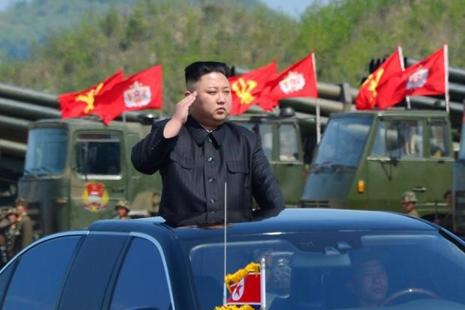 The Kim Jong Un regime has test-fired ballistic missiles six times this year, including a failed test earlier this month after a high-profile military parade through Pyongyang. Photo: Reuters