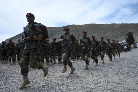Ten army soldiers were killed and nine others wounded, Afghan army said in  a statement.  Photo: AFP