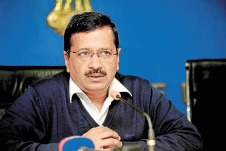A file photo of Delhi chief minister and Aam Aadmi Party (AAP) chief Arvind Kejriwal. Photo: Ramesh Pathania/Mint