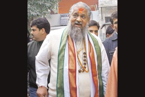 Jagadacharya Chandraswami wielded enormous power during the regime of former Prime Minister PV Narasimha Rao. Photo: Hindustan Times