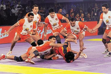 Pro Kabaddi League's 12 franchises spent a total of Rs46.9 crore for 277 players. Photo: HT