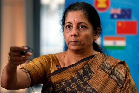 Commerce minister Nirmala Sitharaman. Photo: Reuters