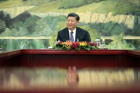 China's President Xi Jinping has claimed that his gigantic 'One Belt One Road' project at a cost of $900 billion will 'add splendour to human civilization'. Photo: AP