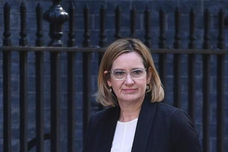 UK home secretary Amber Rudd. Several details of the Manchester bombing probe, including the identity of the attacker, appeared on US media outlets before British security forces were ready to release the information. Photo: AFP