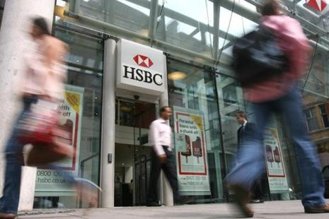 The report's findings come at a potentially embarrassing time for HSBC, a week after a BBC reporter tricked the bank's voice-recognition software. Photo: Suzanne Plunkett/Bloomberg