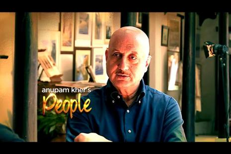 Anupam Kher has also been the host of five different television shows before the celebrity show 'People'.