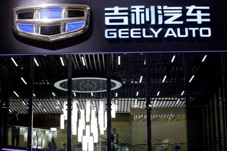 Geely is one of China's biggest independent auto brands. Founded in 1986 as a refrigerator manufacturer, it started producing motorcycles in the 1990s and launched its first car in 2002. Photo: Reuters