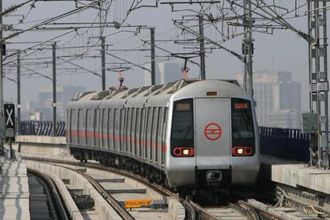 The Greater Noida metro rail project is being implemented by the Noida Metro Rail Corporation Ltd (NMRC), a special purpose vehicle created by the Uttar Pradesh government. Photo: AFP