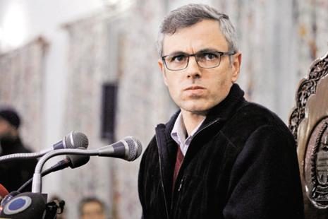Former Jammu and Kashmir chief minister Omar Abdullah suggested that the government was adopting double standards on issues of human rights violations. Photo: Waseem Andrabi/HT