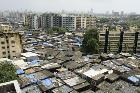 Mumbai's Dharavi  has a reported density of over 2,00,000 people per square km. Photo: HT