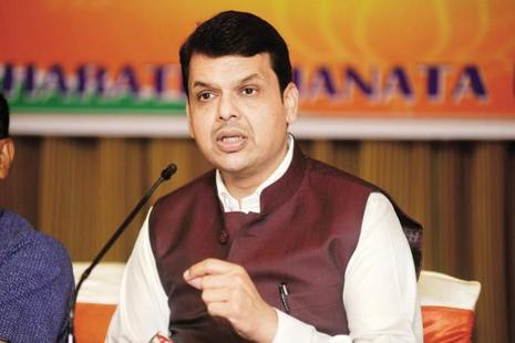 Chief minister Devendra Fadnavis was set to launch 'Shivar Samwad Sabha' today to reach out to farmers in Maharashtra. Photo: Abhijit Bhatlekar/Mint