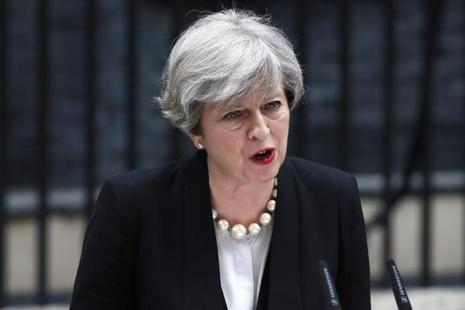 The decision to cut short Theresa May's attendance at the G7 was driven by the fact that Britain is under its gravest threat from terrorism in a decade, an official said. Photo: Reuters
