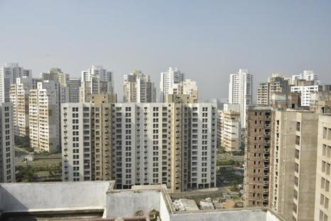 In most cases, funds buy apartments in a project in bulk and then exit as and when the developer liquidates the stock. Photo: Mint