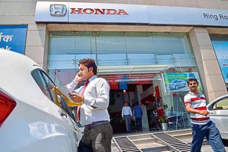 Honda sold nearly 1.6 lakh vehicles last year and is looking to grow over 8% this year. Photo: Mint