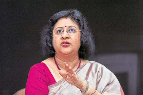 A file photo of SBI chief Arundhati Bhattacharya. Photo: Mint