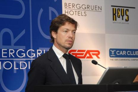 Berggruen Holdings founder Nicolas Berggruen. The New York-based investment firm and is also looking to partner other financial investors in its India hotel business.