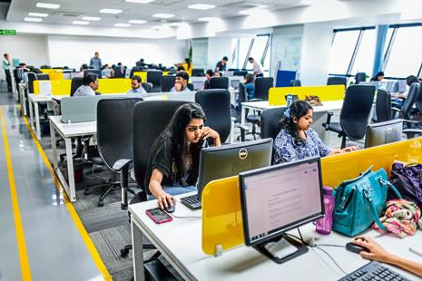 Not all the digital (Automation and Artificial Intelligence) jobs have to reside within IT firms. Software engineers with such skills are increasingly choosing to work at tech start-ups. Photo: Bloomberg