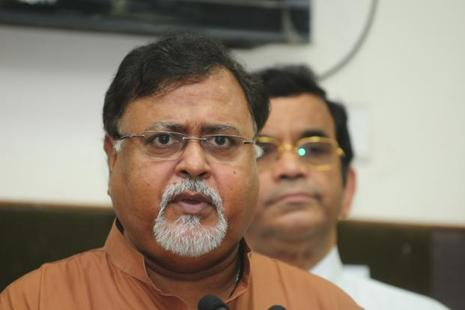 A file photo of West Bengal education minister Partha Chatterjee. Photo: Indranil Bhoumik/Mint