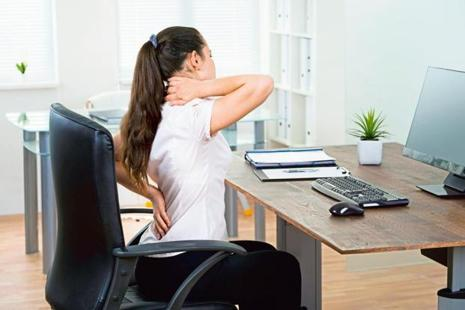 Nearly 70-80% of the people who complain of back pain actually find that the fault is in their posture. Photo: iStockphoto
