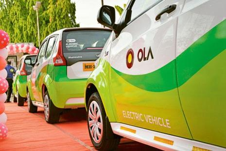 Ola plans to introduce electric cabs and rickshaws in at least eight cities by next March, and add electric bikes later to the fleet. Photo: Aniruddha Chowdhury/Mint