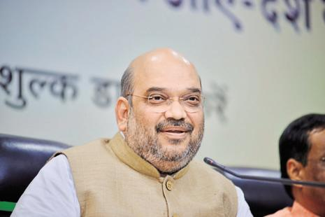 BJP president Amit Shah. Photo: Pradeep Gaur/Mint