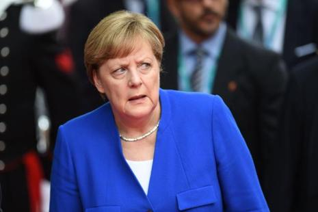 German Chancellor Angela Merkel said Europe must now plot its own course. Photo: AFP