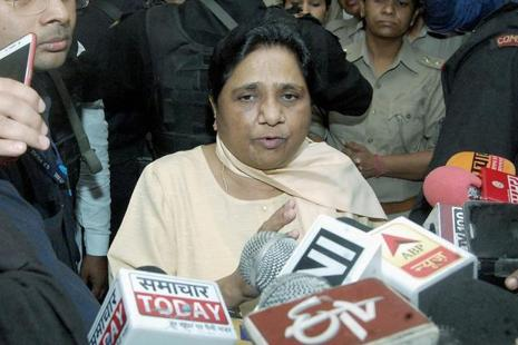 A file photo of Bahujan Samaj Party (BSP) chief Mayawati. Photo: PTI