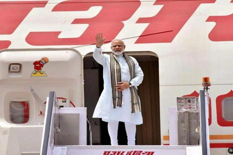 PM Narendra Modi described his visit to Germany as a 'new chapter' in bilateral relations. Photo: PTI