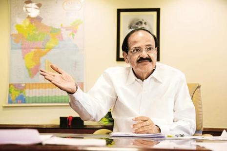 A file photo of Union minister M Venkaiah Naidu. Photo: Mint