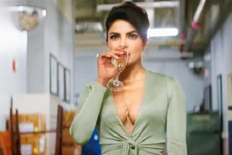 Priyanka Chopra in a still from 'Baywatch'.
