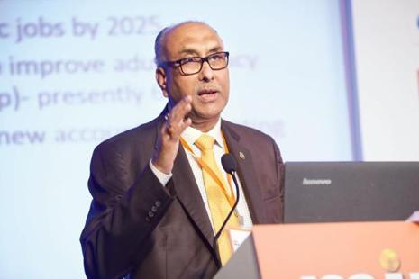 S.S. Mundra said there was no harm in banks charging customers for select services but norms should not be designed to keep some customers away. Photo: Abhijit Bhatlekar/Mint