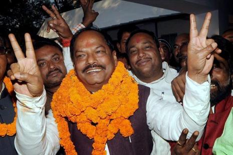 A file photo of Jharkhand CM Raghubar Das. Photo: PTI