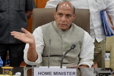 A file photo of Union home minister Rajnath Singh. Photo: PTI