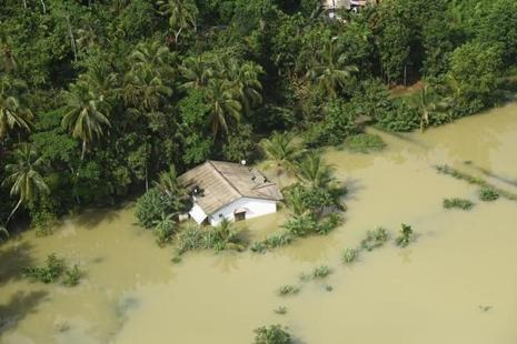 Nearly 600,000 people had been forced from their homes, with thousands suffering structural damage from flood inundation and landslides. Photo: Reuters
